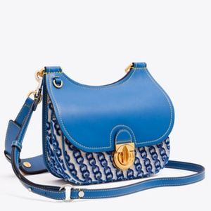 Tory Burch JAMES SMALL COUPE SHADDLE BAG